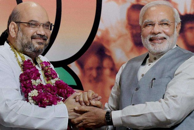 Amit Shah and PM Narendra Modi