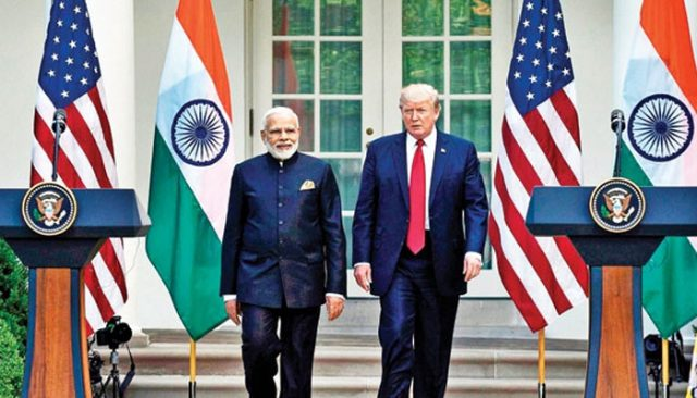 PM Narendra Modi and Donald Trump