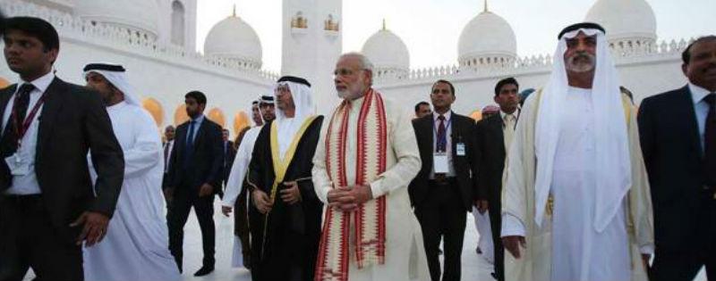 pm narendra modi abu dhabi ke pehle hindu mandir ka udghatan karenge