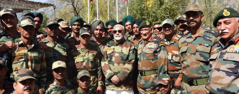 pm narendra modi ke aane se indian army kitni hui majboot