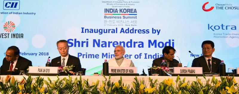 indo korea summit me modi ne kaha bharat duniya ki sabse teji se badhati arthvyawasta
