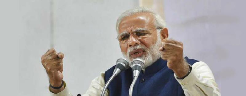 pm narendra modi ne congress par sadha nishana kaha sikud chuki hai congress