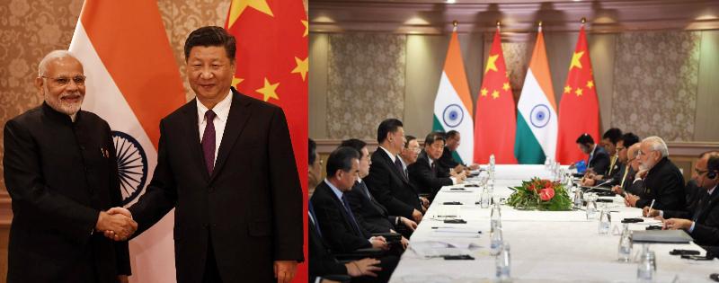 Pm modi ne South africa me china ke president xi jinping se mulakaat ki