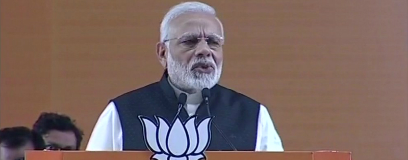 PM Narendra Modi speaks at BJP National Convention in Delhi